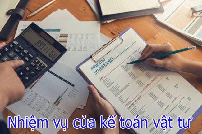 Nhiệm vụ của kế toán vật tư